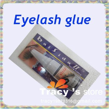 Free Shiping Black Color Professional Makeup False Eyelashes Extension Adhesive Glue Lash Beauty Tool (PSD Box) Wholesale