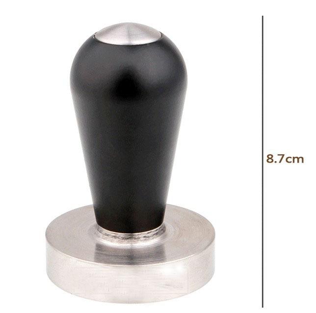 NEW ARRIVAL Aluminum Handle Stainless Steel Coffee Tamper 58MM Diameter Coffee Tamper