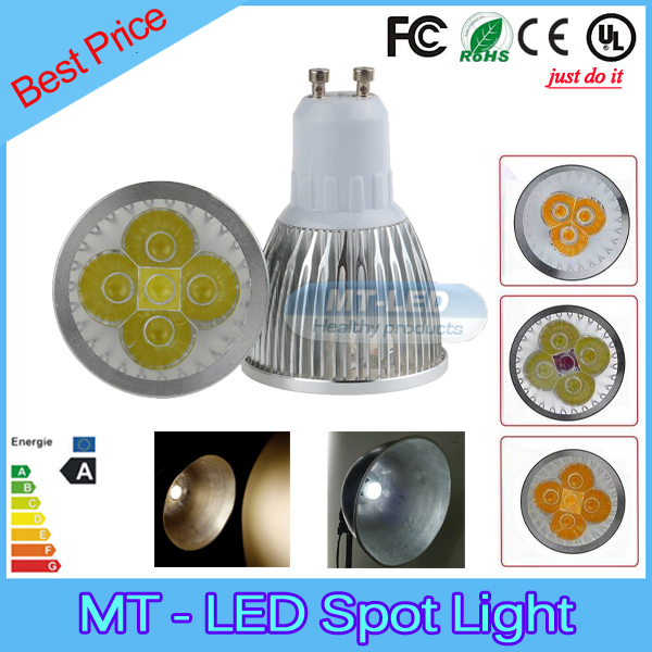 10pcs/lot lampada led 9W 12W 15W led lamp GU10 dimmable led bulbs 85-265V led light 2 years warranty free shipping(China (Mainland))