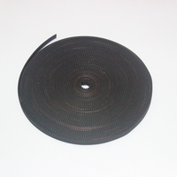 3d طابعة أجزاء التبعي 10 متر عرض gt2 المطاط المفتوحة توقيت الحزام 6 ملليمتر صالح لل 3 3dprinter reprap prusa مندل روستوك cnc