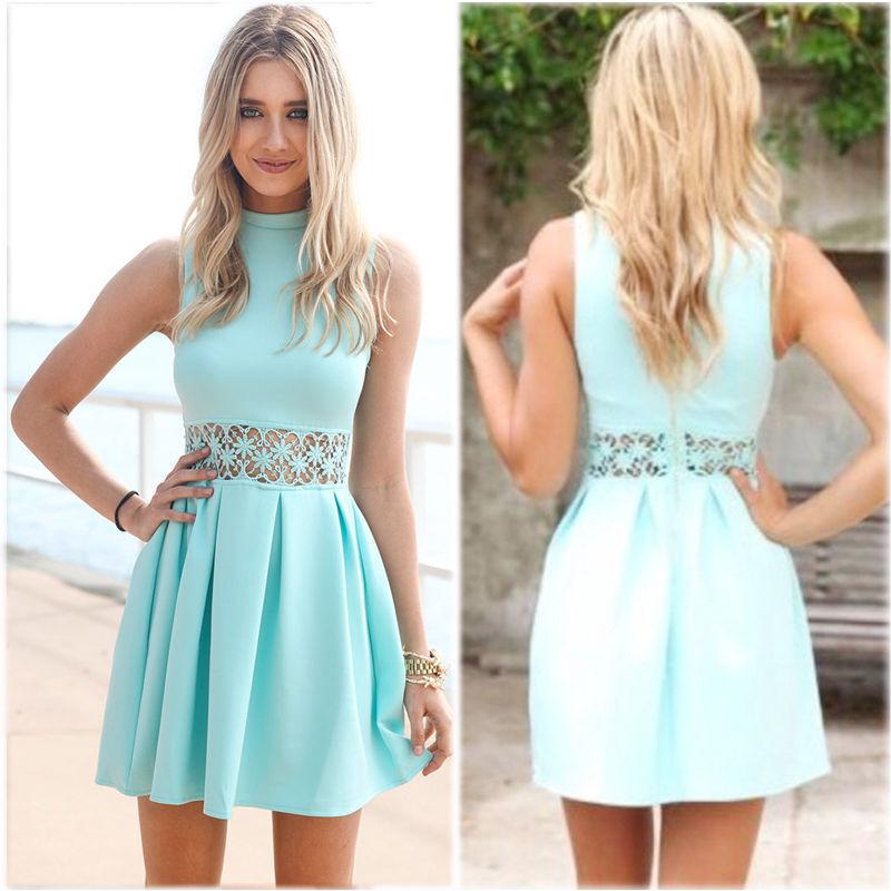 Popular Cyan Dress-Buy Cheap Cyan Dress lots from China Cyan Dress ...