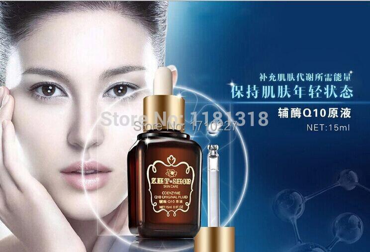 2015 Parfumes Women free Shipping Coenzyme Q10 Original Fluid Serum Face Cream Treatment Care Skin Acne Pimples Anti Winkles(China (Mainland))