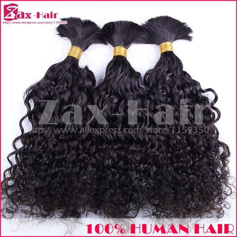 Curly Bulk Hair For Braiding Top Quality Cheapest Price Bulk Human Hair In Stock Brazilian Virgin Hair Unprocessed Remy Grade 7A