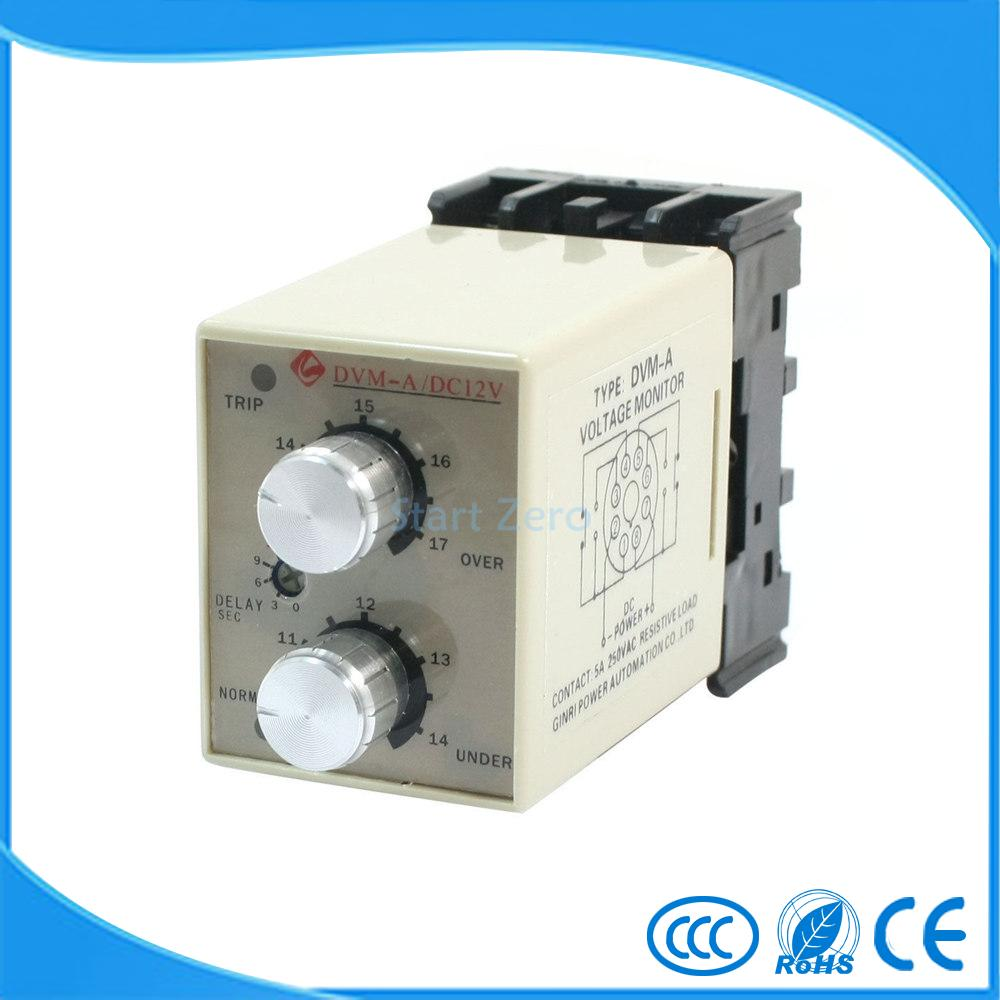 монитор 3-фазное фазное-напряжение схема