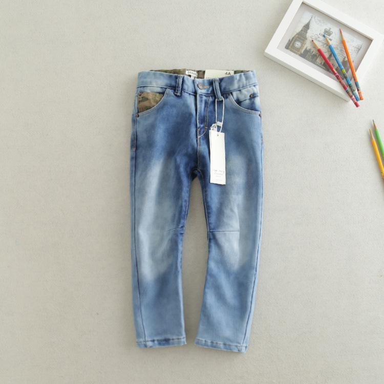 New Arrival 2015 Boys Girls Skinny Jeans Kids Fashion Denim Jeans  Children Spring Autumn Long Pants Casual Jeans<br><br>Aliexpress