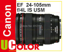 Canon EF 24-105mm f/4L IS USM Lens For 700D 100D 5D MK III 7D II 70D 6D 60D 650D 600D (White Box)
