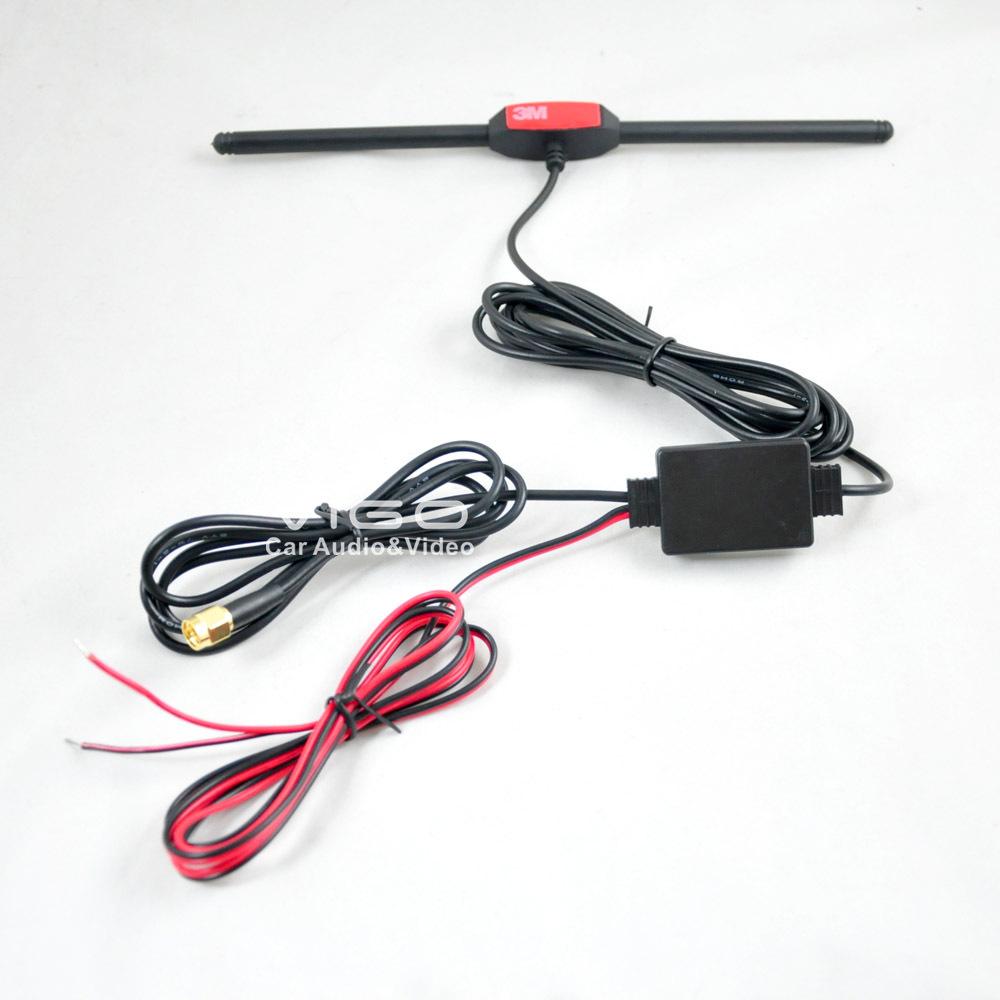 Car tv digital antena amplificador de sinal sma para dvb t - Amplificador de antena ...