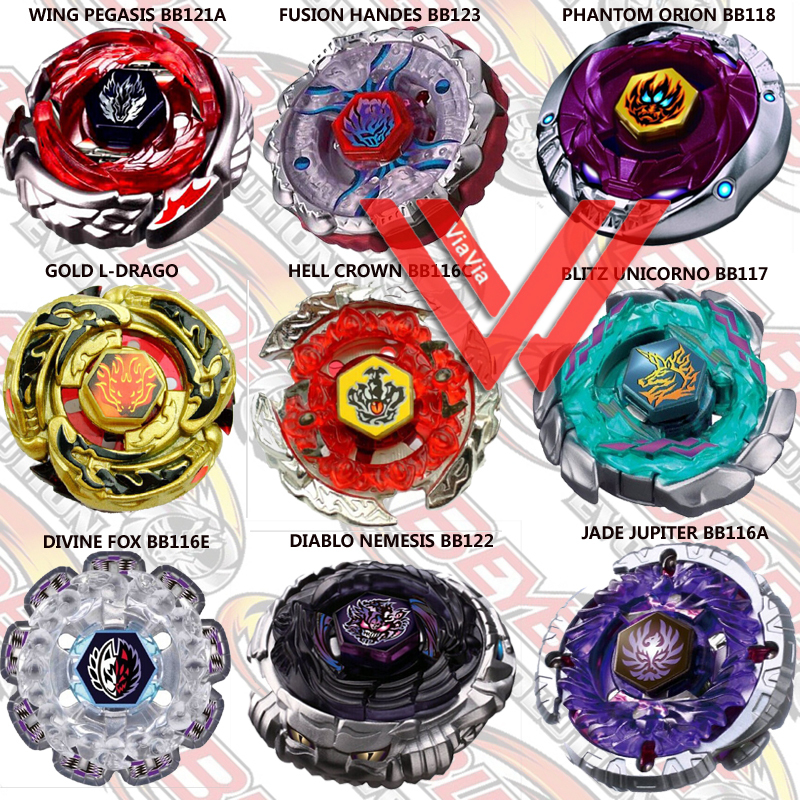 beyblade names with pictures