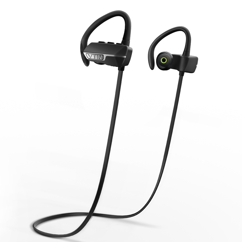 VTIN VBT009B Wireless Bluetooth V4.1 Headset Earbuds with Mic Noise Cancelling in Ear bud Earphone Earbud for iPhone Samsung HTC(China (Mainland))