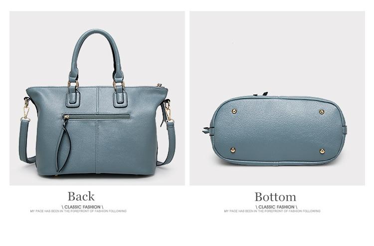 2018 Fashion Women Luxury Handbag Women Bags Designer Ladies Brand PU Leather Spring Casual Tote Big Shoulder Bags For Woman