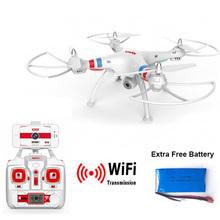 Syma X8W Explorers WiFi FPV Drone Headless Mode RC Quadcopter with Camera RTF 2.4GHz