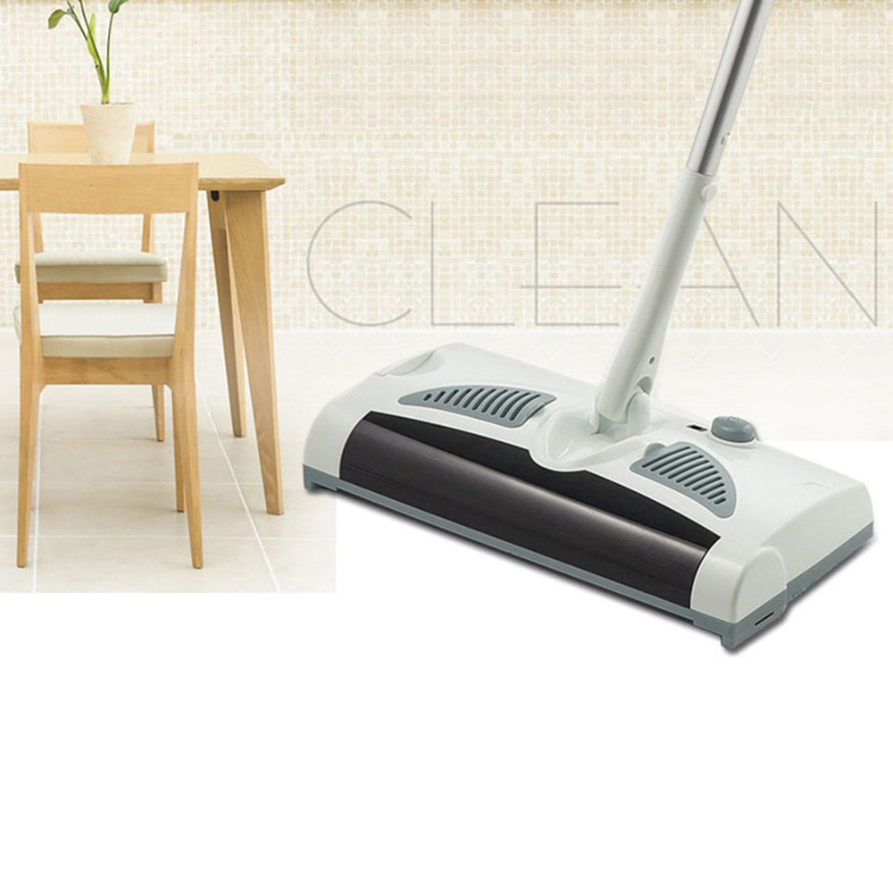 W-S018 Household Sweeper and Mop 2 in 1 Rotatable Cordless Electric Robot Cleaner Sweeper Drag Sweeping Machine with Low Noise(China (Mainland))