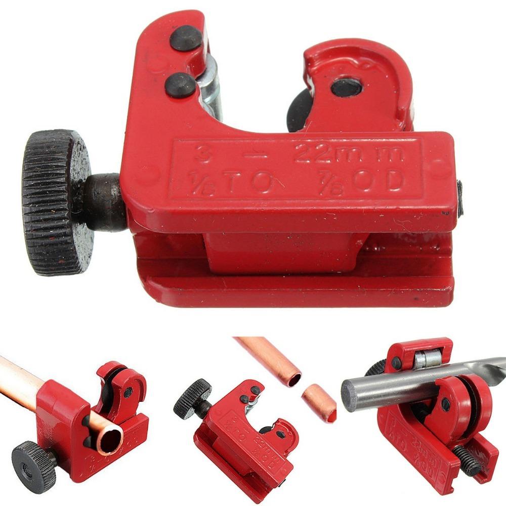 2 pcs/Lot _ Mini Tube Cutter Slice Copper Aluminum Tubing Pipe Cutting Tool 3-22mm 1/8inch-7/8inch OD