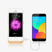 For iphone 5 s Power Bank 4200mAh External Portable Battery Backup Charger Case For iPhone 5 5c 5s SE USB Charger Battery case