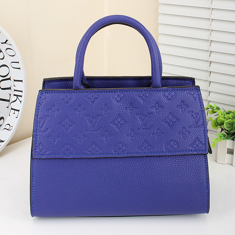 New Arrival Women Pruse, Blue Handbags For Ladies, Vintage Messager Bag,New Fashion Women Tote(China (Mainland))