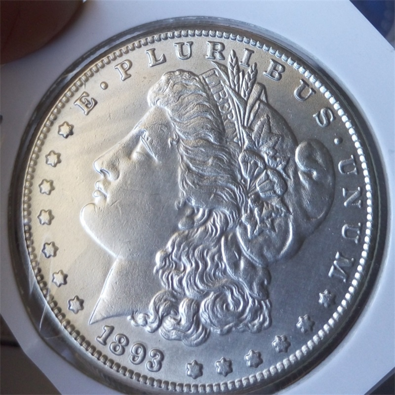 90% silver Date 1893-S Morgan Dollars copy coins -High Quality(China (Mainland))