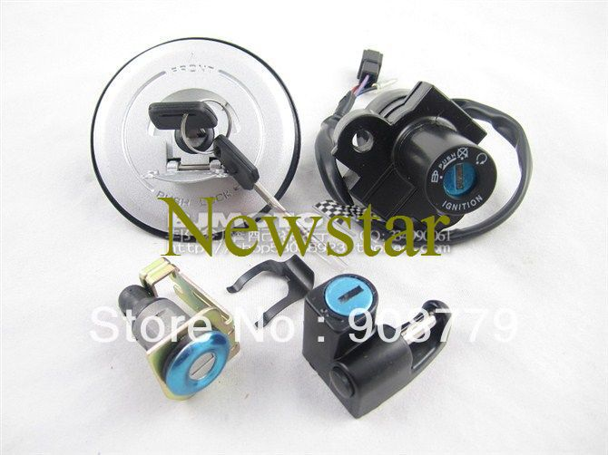 New Ignition Switch, Gas Cap Cover & Key for Honda HORNET250 Guaranteed 100%(China (Mainland))
