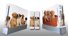 Free shipping 5pcs Video game machine protection stickers for Wii Animal Styles Can Customize collector gamer party supply gift