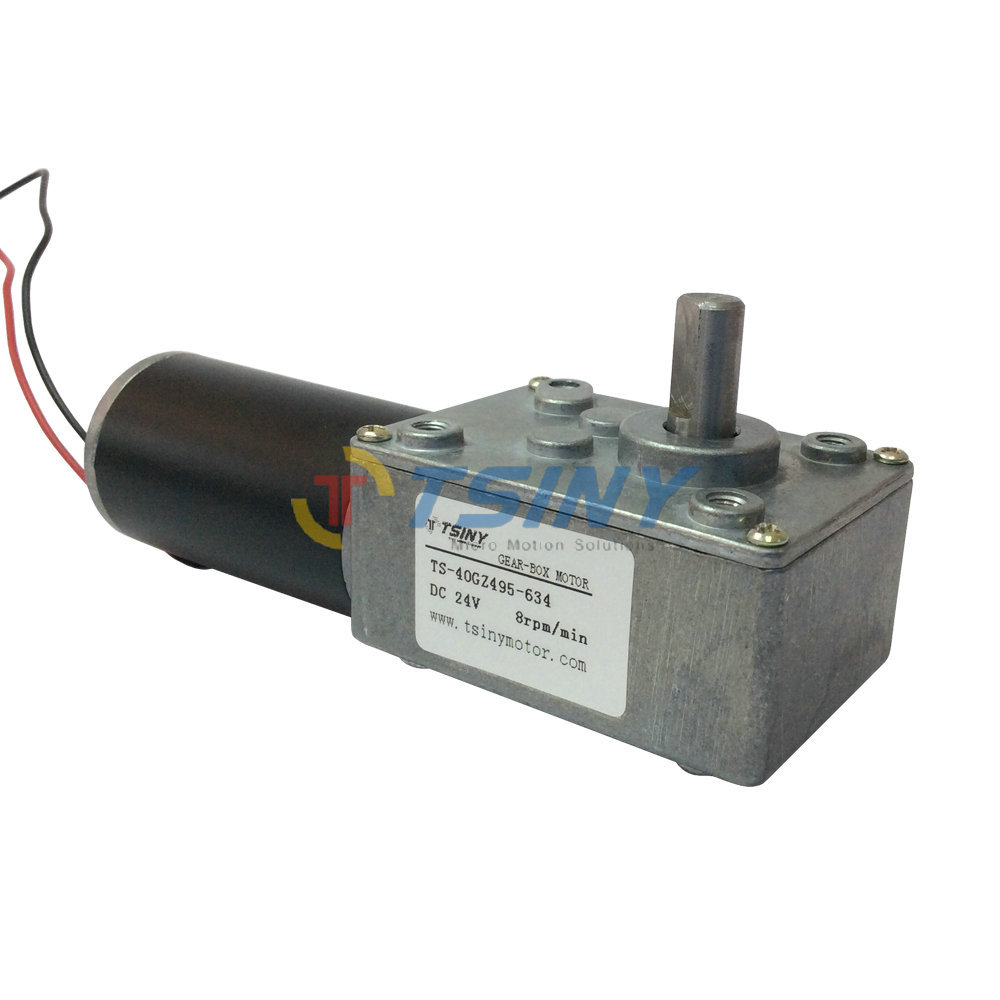 TSINY Metal Gear Motor 24V DC Geared Motor High torque 8 RPM Low Speed Manufacturers sales(China (Mainland))