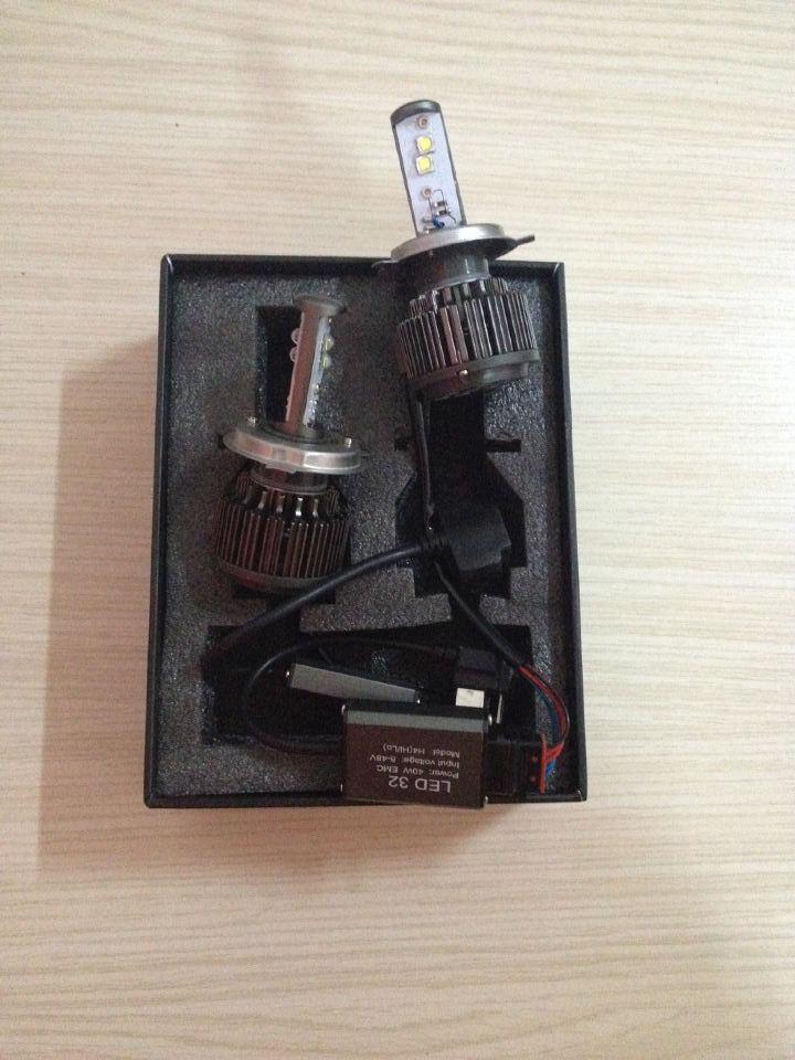 40W H4 Cree LED Car Headlight Kit Replace Hid Xenon Kit Bulb globe Lamp 12V(China (Mainland))