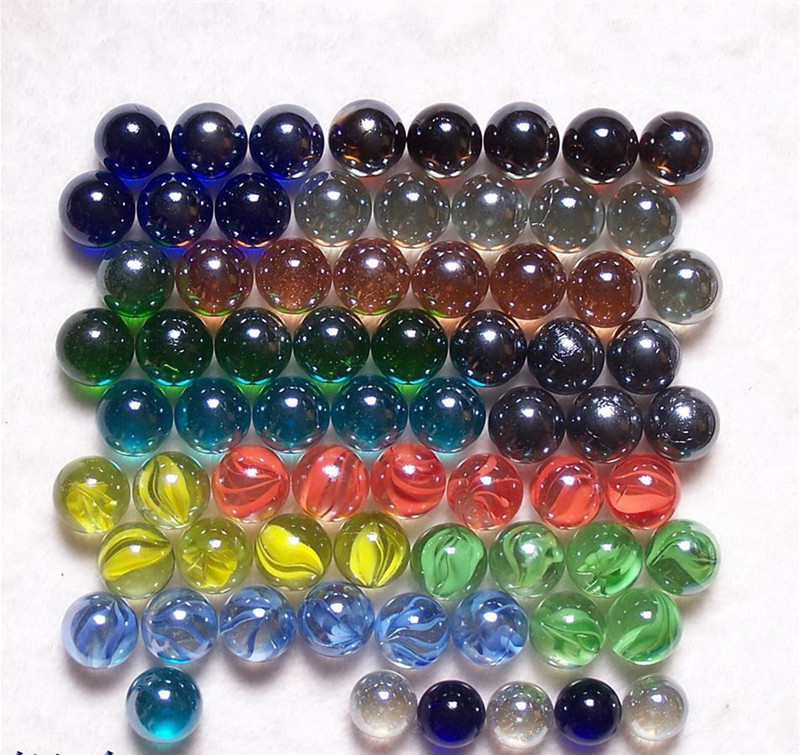 Hot sale crafts 16mm cat eyes balls fish tank decoration for Fish tank marbles
