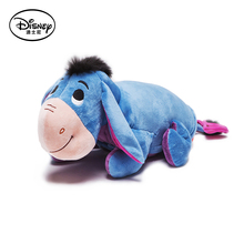 Disney Eeyore Plush Stuffed Toy Doll Children's Rest Warm Blanket Playing Lying Pillow Cushion Quilt Toys Peluches Kids Gifts(China (Mainland))