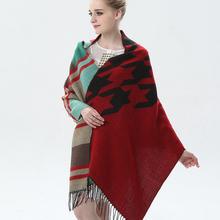 Plaid Shawls Hot Sale Blanket Scarves High Quality Soft Scarf Women Inverno Female Echarpe All-match Ladies Warm Pashmina Poncho(China (Mainland))