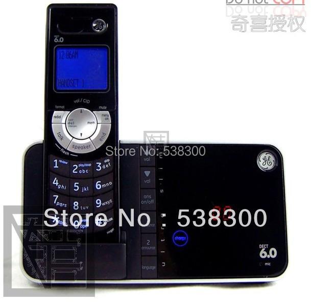 GE 28118 Ultra Slim DECT 6.0 Digital Cordless Phone Answering System Telephone Single Handset Home Phone(China (Mainland))