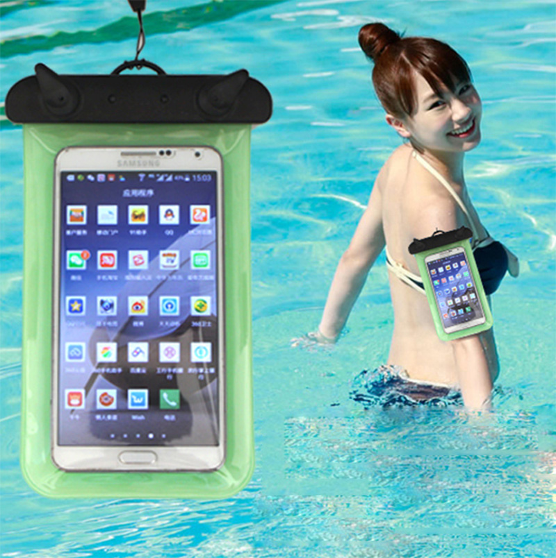 Elough Underwater Diving Dry Photo Waterproof Case Bag Pouch Cover Mobile Phone Case for iPhone 6 6s 5 5s plus Samsung s7 Xiaomi(China (Mainland))
