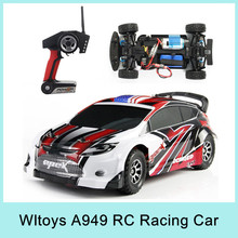 WL Wltoys A949 Racing RC Car 4WD 2.4GHz Drift Toys Remote Control Car 1:18 High Speed 40km/h Electronic Car VS L202 NEW 2015(China (Mainland))