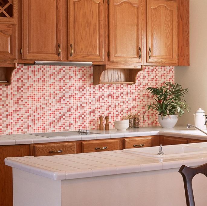 Vinilos azulejos cocina - Paredes de cocina sin azulejos ...