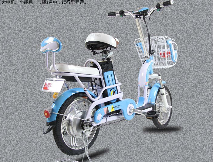 Bicycle lithium electric car electric cars electric bicycle new fashion bike recreational vehicles 16 inch 10AH