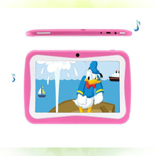 New Design 7 Inch Kids Tablets pc WiFi Quad core Dual Camera 8GB Android 4.4 Children's favorites gifts 8 9 10 inch tablet pc(China (Mainland))