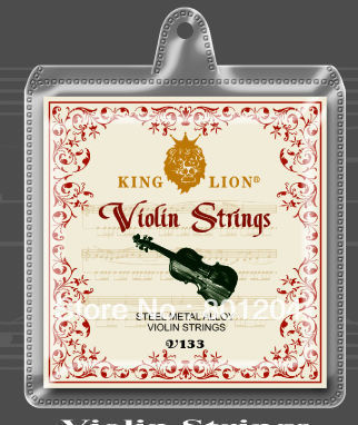 30 sets of king lion steel metal alloy violin strings V133