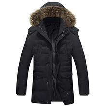 Top Quality 2016 New Black Parkas Mens Jackets And Coats Sports Snowboard Outdoor Warm Winter Goose Down Jacket Men Waterproof(China (Mainland))