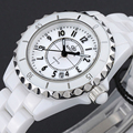 2016 New Watch Women Ceramic Quartz Watches Brand Wristwatches Ladies Wrist Watch Ceramics Strap 50M Water