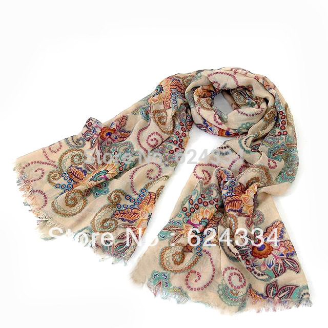 2015 Limited Horse European And American Style 2014 Winter Brand Designer Retro Totem Scarf Women Echarpes