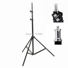 2m Light Stand Tripod 1/4 Screw Head or Flat Head For Softbox Photo Video Lighting Flash Lamp Umbrella Photo Studio Accessories(China (Mainland))
