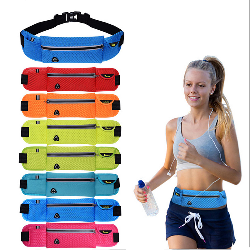 Running waist pack for Men Women Fanny Pack Bum Bag Hip Money Belt travelling Mountaineering Fishing Cycling Mobile Phone Bag<br><br>Aliexpress
