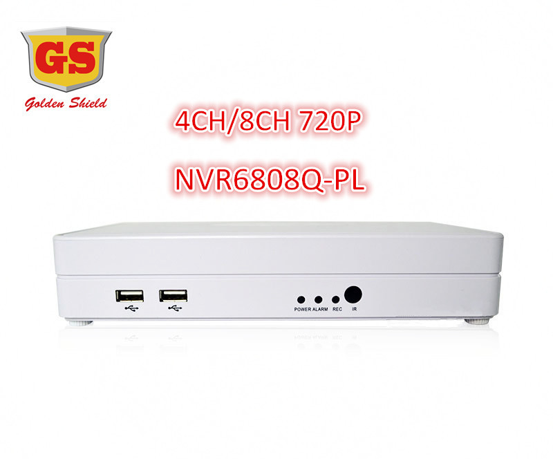 GS Mini 4CH/8CH NVR HDMI 1080P D1P2P Cloud H.264 Network Video Recorder CCTV System NVR 8 Home Use(China (Mainland))