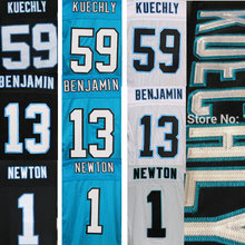Elite Stitched Football Jerseys #1 Cam Newton Jersey #13 Kelvin Benjamin #59 Luke Kuechly jersey(China (Mainland))