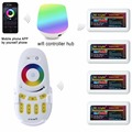 Mi light 2 4G 4 Zone WIFI LED controller IBox RF touch remote RGB Controller Dimmer