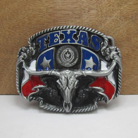Fashion Styling Bull Head Belt Buckle Denim Cowboy Western - ESEN store