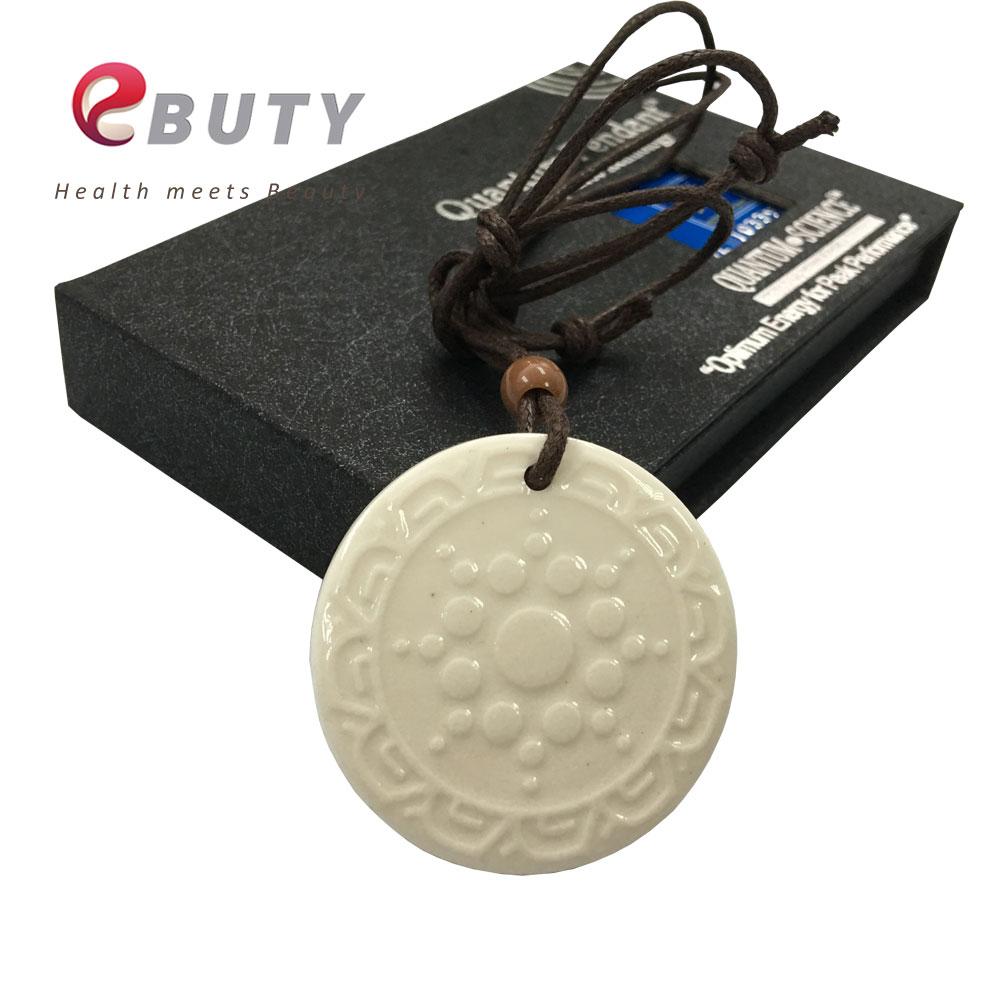 Fashion Quantum Energy Pendant Scalar With Lava Negative Ions Best Price for 10pcs(China (Mainland))