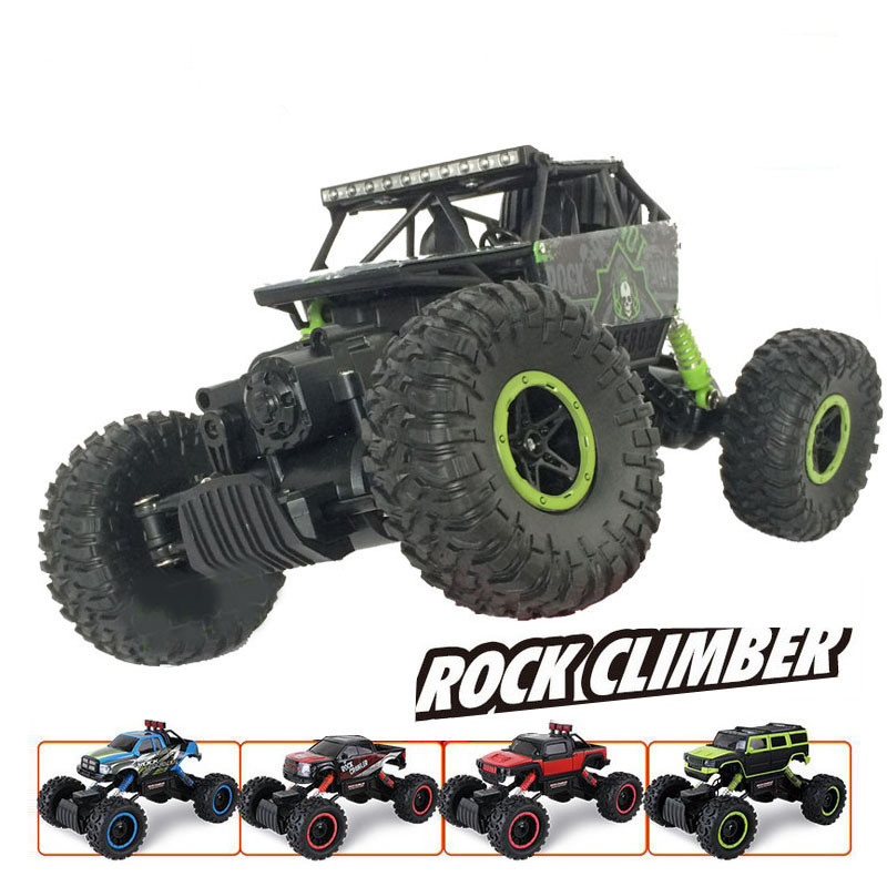 Original packaging RC Car 2.4G 4CH 4WD Rock Crawlers Driving Shaft Drive Cars Model Off-Road Vehicle Stunt Racing Car Toy