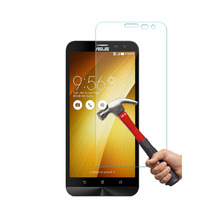 10.100% Genuine Tempered Glass Film Screen Protector Asus ZenFone 2 Laser 6.0 inch ZE601KL, DHL - kumonkey Store store