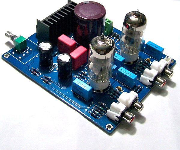 1 pcs 6N3 enthusiast DIY tube preamp bile preamp preamplifier fidelity stereo amplifier hifi accessories(China (Mainland))