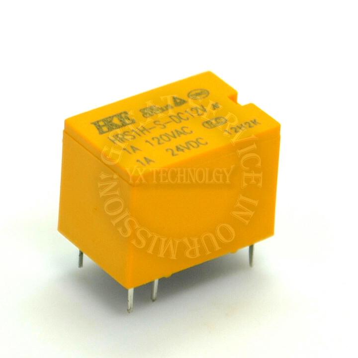 Реле Yx hrs1h/s/dc12v 1A 6pin HRS1H-S-DC12V
