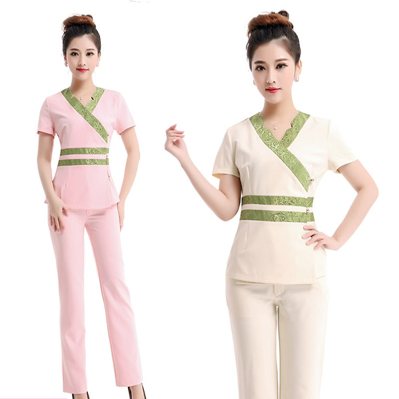 2015 free shipping summer styles thai spa massage for Uniform design for spa