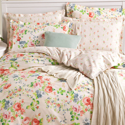 LAURA ASHLEY Fashion Bedding Sets Duvet Cover 4pieces Queen Size(China (Mainland))